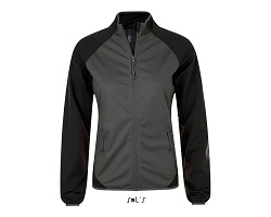 Softshell ultra light bicolore femme