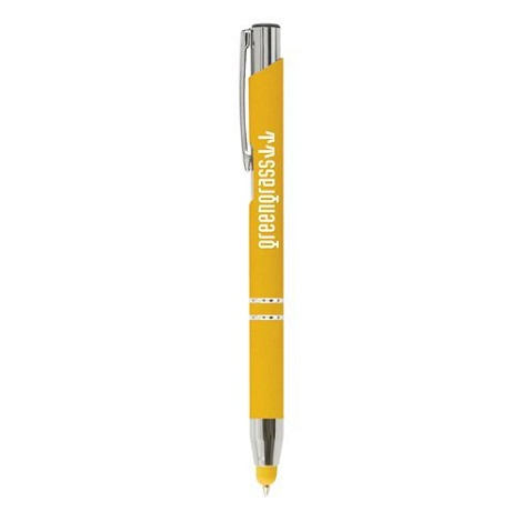 Stylo bille stylet silicone