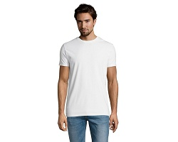 Tee-shirt col rond homme blanc 190 g/m²