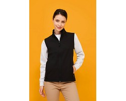 Softshell femme sans manches