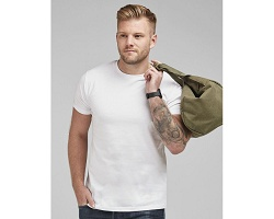 Tee-shirt promotionnel indémodable blanc homme 160 g/m²
