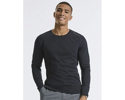 Tee-shirt manches longues homme bio