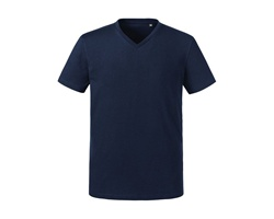 Tee-shirt col V homme couleur