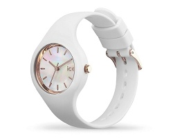 Montre prmotionnelle  pearl white très petite - Ice Watch