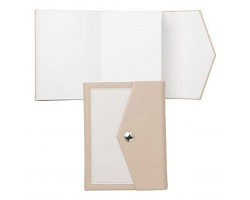 Carnet A6 Bird beige - Cacharel
