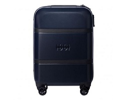 Trolley Irving blue - Cerruti 1881